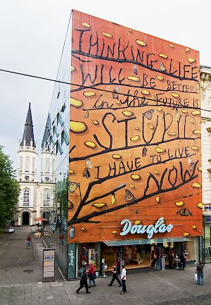 STEFAN SAGMEISTER: Thinking that life will be better in the future is stupid. I have to live now. Douglas Landstraße