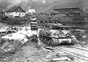 US Panzer in OÖ Mai 1945 Quelle: OÖLA