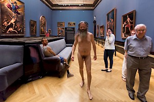 Cristina Lucas Naked in the Museums, 2012–2016